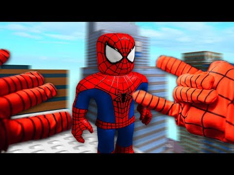 REALISTIC ROBLOX - BECOMING SPIDERMAN!🕷