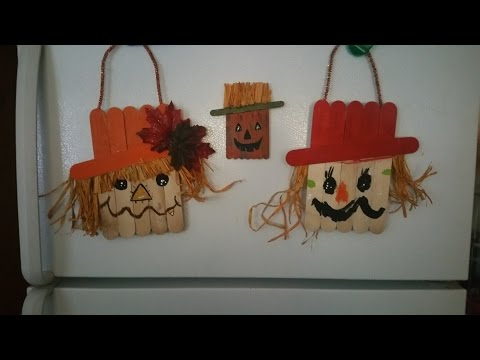 Kid friendly fall diy scarecrow project