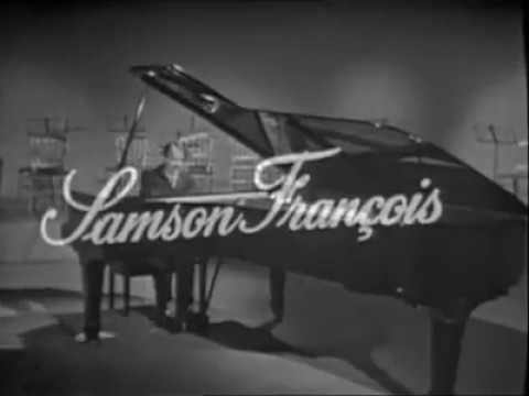 Samson Francois Ravel Toccata