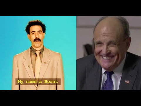 Rudy Giuliani faces questions after compromising scene in new ...