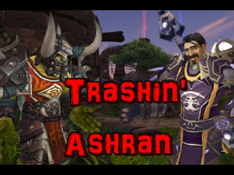 how to get to ashran wow