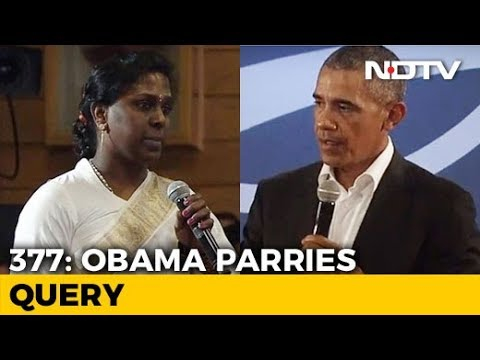 """I'm A Criminal,"" Said Indian Transgender Activist. Barack Obama's Response"
