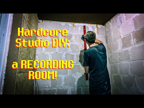 Hardcore Studio DIY: A RECORDING ROOM (or A Vocal Booth) From SCRATCH