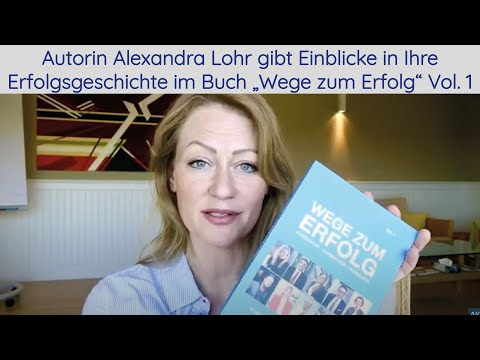 Lesung von Autorin Alexandra Lohr. Alexandra Lohr gibt Einblicke in ihre Erfolgsgeschichte.