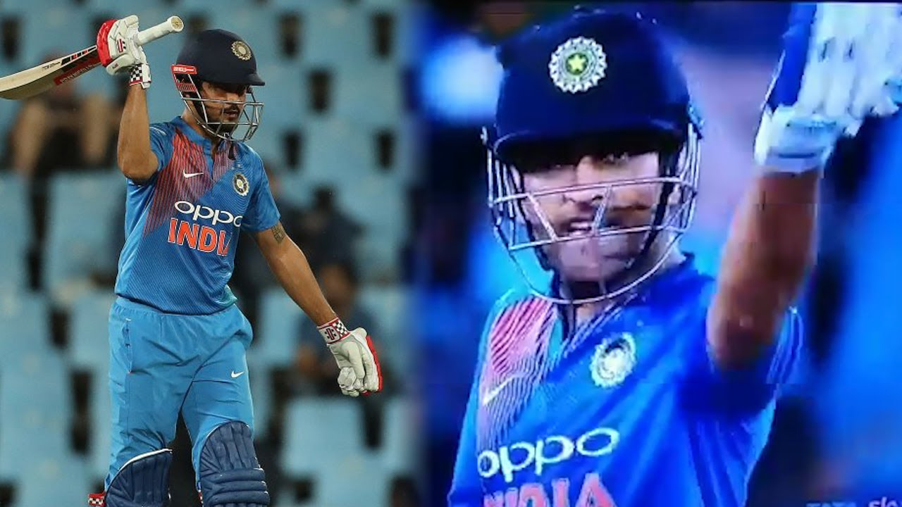 MS Dhoni lost his 'Cool' at Manish Pandey, know real reason behind ...