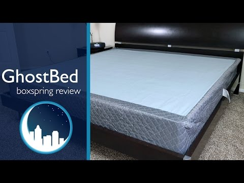 a bed in a box ghostbed mattress foundation review doovi. Black Bedroom Furniture Sets. Home Design Ideas