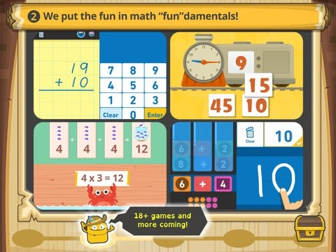 Todo Math | Pre-K to 2nd Grade Math Learning Game App for Kids