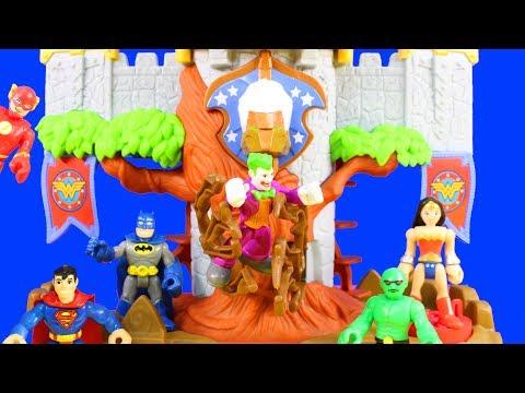 Imaginext Justice League Batman Defends Wonder Woman Themyscira Island Playset And Shield