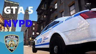 GTA IV LCPDFR Marked NYPD Taurus Midtown North Car
