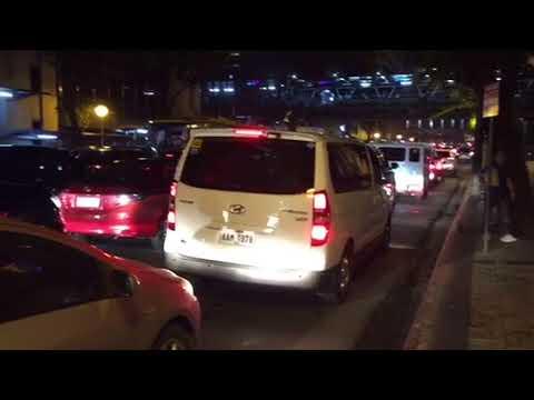 BLM presents Manila Makati traffic at night