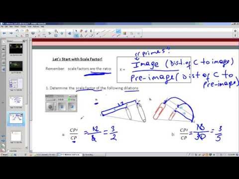 Lesson 9- 1 DILATIONS AND SCALE FACTOR