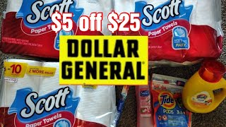 DOLLAR GENERAL in-store couponing! 7/4/20 TONS OF SCOTT!