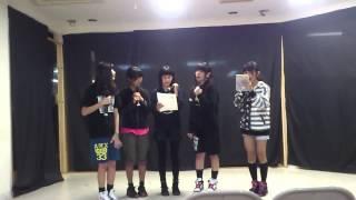2013 3月3日 姫祭りで初披露予定の新曲ハートのエナジーを初めて歌っ...