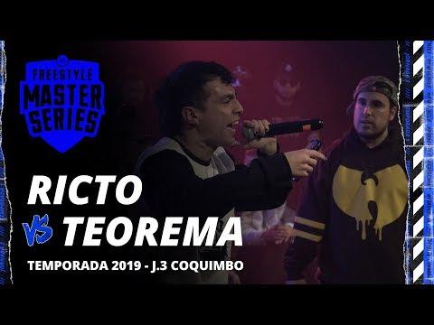 TEOREMA VS RICTO FMS CHILE Jornada 3 OFICIAL - Temporada 1