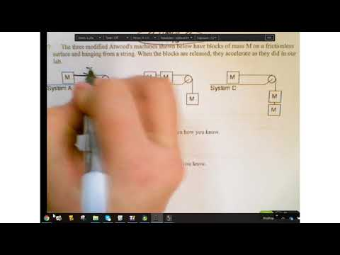 Net Force Particle Worksheets 1 & 2