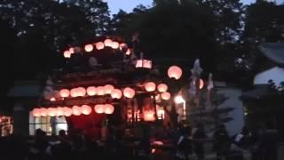 2013年 豊田市志賀町 志賀神社宮入り