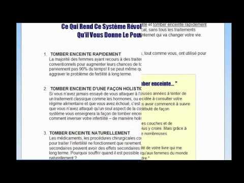 Extrêmement SOLUTION POUR TOMBER ENCEINTE FACILEMENT - YouTube RQ56