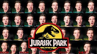 I sing the ENTIRE orchestra in the Jurassic park theme (Voice Orchestra)