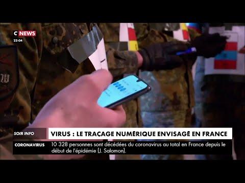 Coronavirus : le traçage numérique envisagé en France