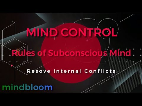 Mind Control Rules Of The Subconscious Mind