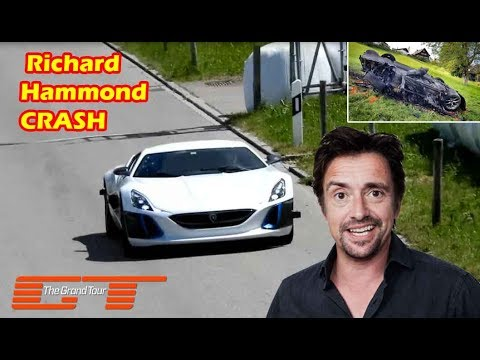 Richard Hammond Car Crash During Filming The Grand Tour 2017 Youtube