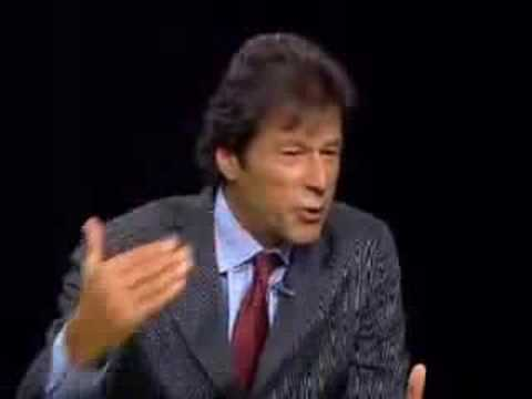IMRAN KHAN WITH CHARLIE ROSE 2/3