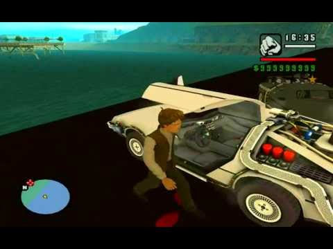 GTA San Andreas BTTF Mod: Clock Tower