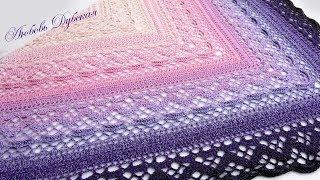 Красавица-шаль Klaziena. Часть 2. The beautiful shawl Klaziena. Part 2.