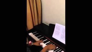 Fill my cup Lord (hymn) - piano