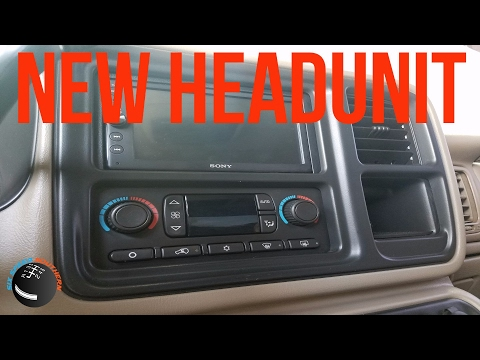 Chevy Silverado Headunit Install How To
