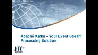 apache kafka your event stream processing solution