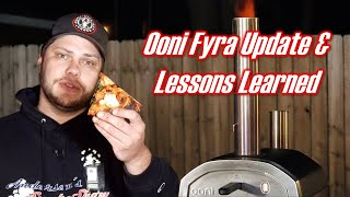 Ooni Fyra Portable Wood Fired Pizza Oven | 2 Month Update and Lessons Learned