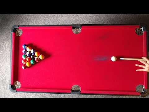 clearance on a 40 inch pool table pt. 2