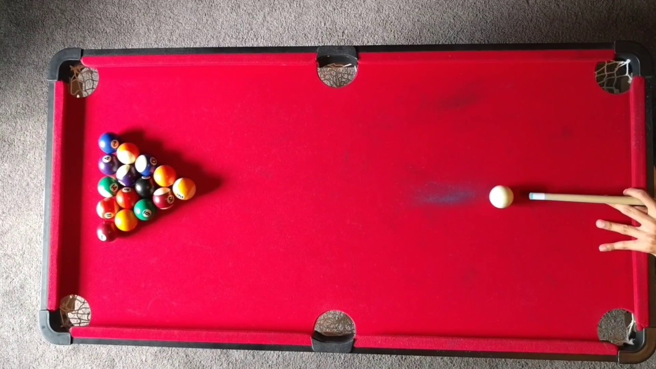Clearance On A Inch Pool Table Pt YouTube - 40 inch pool table