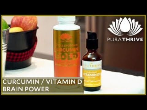 Curcumin & Vitamin D Combo: Brain Protection | PuraTHRIVE- Thomas DeLauer