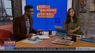 Nate Burleson Doesn't Believe the Lions Should Be at the Kids Table #NYWeek