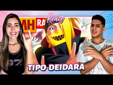 REACT   Tipo Deidara (Naruto)   Style Trap   Prod. Sidney Scaccio   MHRAP