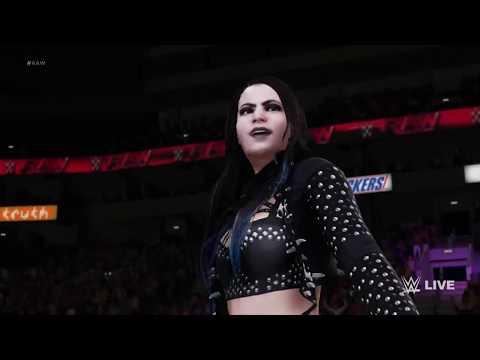 WWE 2K18 Paige vs Maryse