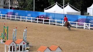 Sam Sacksen 2011 World Cup Final Pentathlon Ride.MOV