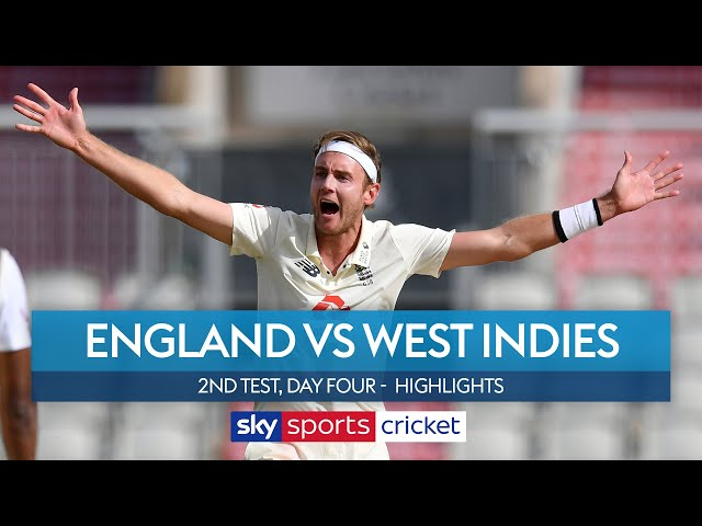 England need 10 wickets on final day to level series | England v West Indies Highlights - Sky Sports Cricket