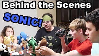 SONIC BEHIND THE SCENES!!!