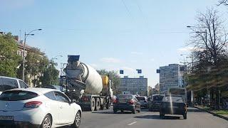 Киев ВСТРЕТИЛ МЕНЯ ПРОБКАМИ