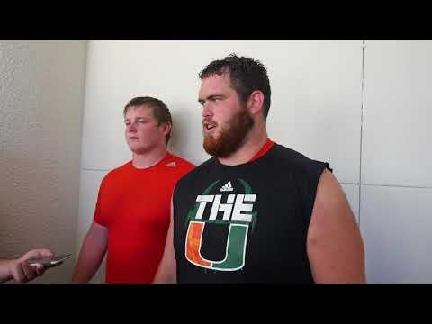 Tyler Gauthier & Kc McDermott | Post Practice Interview | 8.18.17