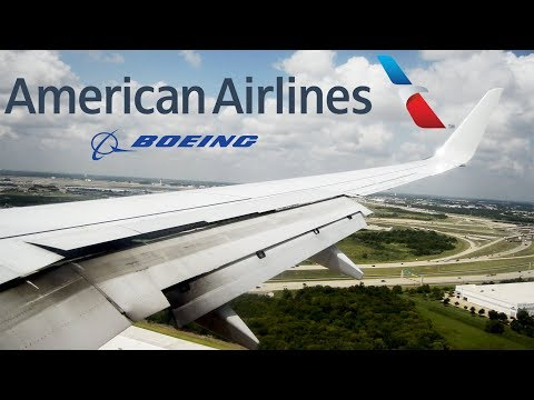 American Airlines Boeing 737-800 (N849NN) Landing in Dallas/Fort Worth Airport (DFW)