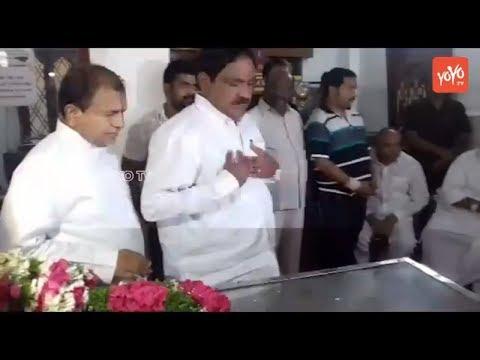 Errabelli Dayakar Rao Pays Condolence to Bandaru Dattatreya's Son Vaishnav Sudden Demise | YOYOTV
