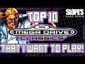 Top 10 Sega Mega Drive / Genesis Classics that I want to play! - SGR [PREVIEW]