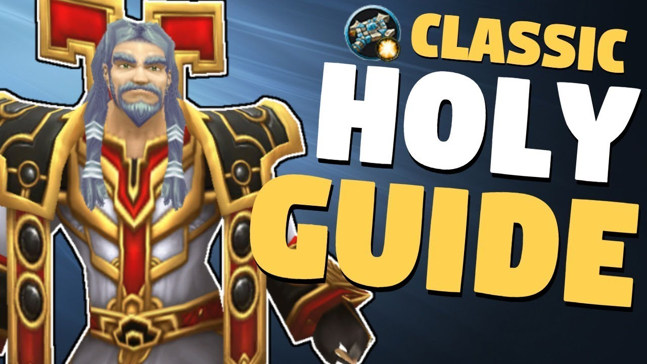 Wow classic priester level guide