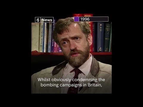 Jeremy Corbyn Condemning IRA Bombing in a 1996 Interview
