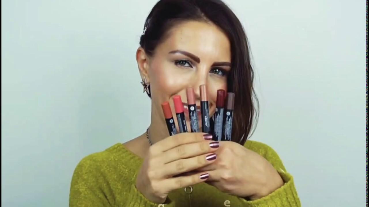 Gabrini Cosmetics Matte Lipstick Crayon Youtube
