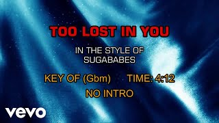 Sugababes - Too Lost In You (Karaoke)